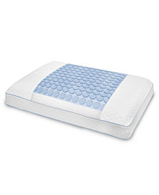 CLOSEOUT! SensorGel Luxury Gusseted Pillows, Pressure Relief Memory Foam, Cooling Gel Overlay