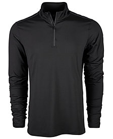 Ideology Men's Core Bonded Quarter-Zip Sweater, Created for Macy's