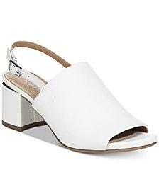 Franco Sarto Marielle Block-Heel Slingback Sandals