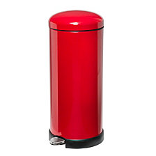 Honey Can Do 30L Retro Kitchen Trash Can
