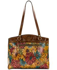 Patricia Nash Floral Print Poppy Tote