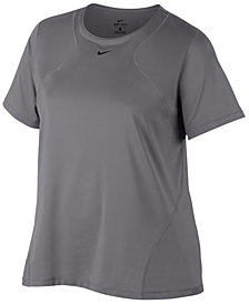 Nike Plus Size Pro Mesh Training Top