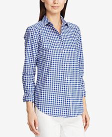 Lauren Ralph Lauren Gingham Shirt