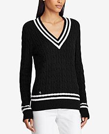 Lauren Ralph Lauren Cotton Cricket Sweater