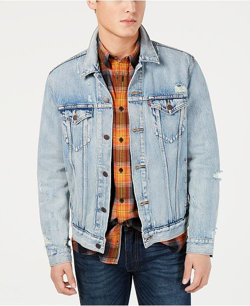 ee0c1203 Levi's Men's Denim Trucker Jacket & Reviews - Coats & Jackets - Men ...