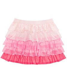Epic Threads Little Girls Colorblocked Tiered Ruffle Skirt, Created for Macy's
