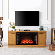 Edenton Fireplace TV Stand, Quick Ship