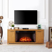 Edenton Fireplace TV Stand, Quick Ship