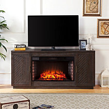 Carverdale Fireplace TV Stand, Quick Ship
