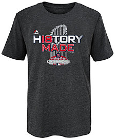 Majestic Boston Red Sox 2018 World Series Champ Locker Room T-Shirt, Big Boys (8-20)