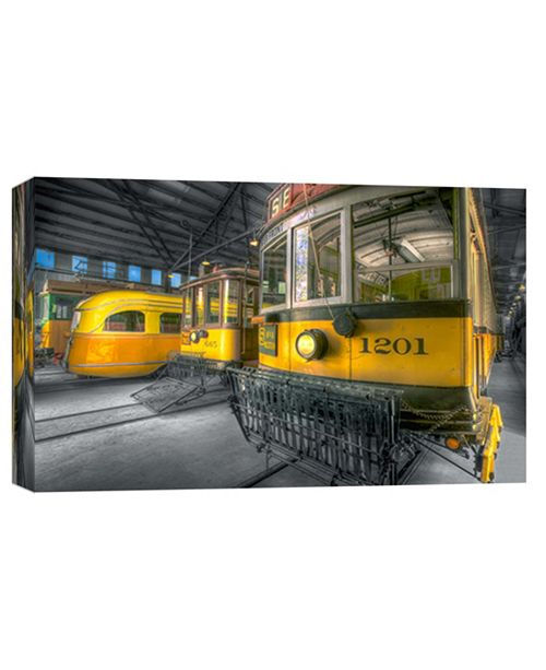 PTM Images 8Th And Western, Los Angeles Railway Decorative Canvas Wall Art