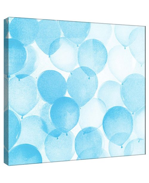 PTM Images Balloons In Blue A Decorative Canvas Wall Art