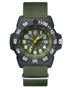 LUMINOX Lumi Navy Seal Tr in Green