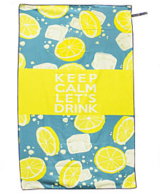 BeachTech HP Beach Towel - Keep Calm