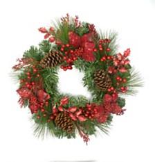 "20"" Decorated Wreath"