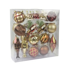36 Pieces Mix Christmas Ornament