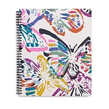 Butterfly Flutter Large Notebook