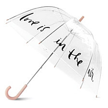 Kate Spade New York Clear Umbrella, Love Is In The Air