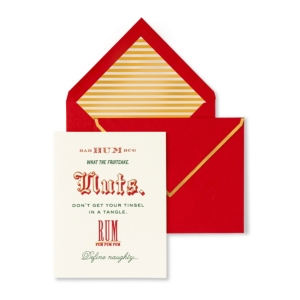 Kate Spade New York Card Set, Nuts And Rum