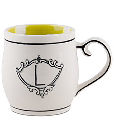 Home Essentials Molly Hatch Monogram Mug, Letter L