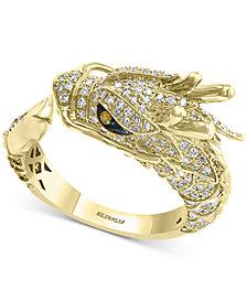 EFFY® Diamond Dragon Ring (3/4 ct. t.w.) in 14k Gold