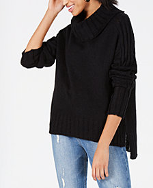 Hooked Up by IOT Juniors' Drop-Shoulder Sweater