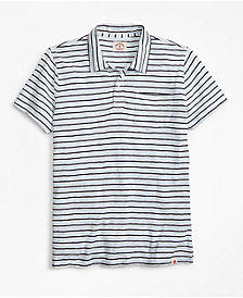 Brooks Brothers Men's Slim-Fit Striped Polo
