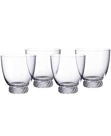 Villeroy & Boch Montauk Double Old Fashioned Tumbler, Set of 4