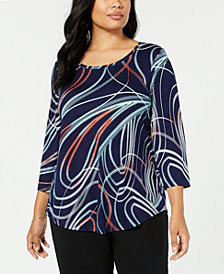 Plus Size Tops Womens Plus Size Blouses Shirts Macy S