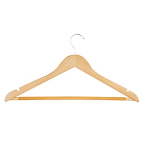 Honey Can Do 10-Pc. Wood Suit Hangers