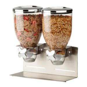 Zevro by Honey Can Do Designer Edition Double 17.5-Oz. Cereal Dispenser