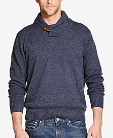Weatherproof Vintage Men's Regular-Fit Shawl-Collar Sweater