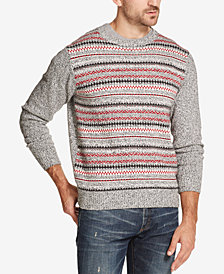 Weatherproof Vintage Men's Fairisle Stripe Sweater