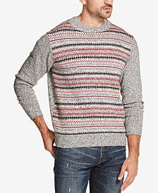 Weatherproof Vintage Men's Fairisle Stripe Sweater