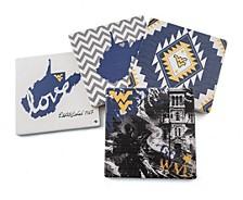 West Virginia University Spirit Coasters, Set of 4