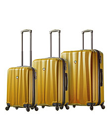 Mia Toro Italy Pozzi Hardside Spinner Luggage 3PC Set