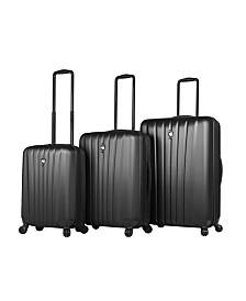 Mia Toro Italy Magari Hardside Spinner Luggage 3PC Set