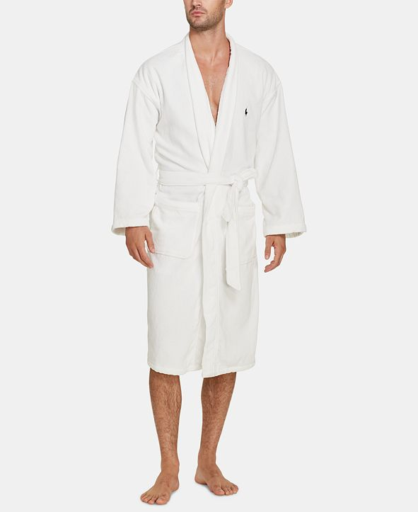 Polo Ralph Lauren Men's Big & Tall Shawl Cotton Robe