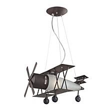 Novelty Collection Bi-Plane In A Walnut Fin