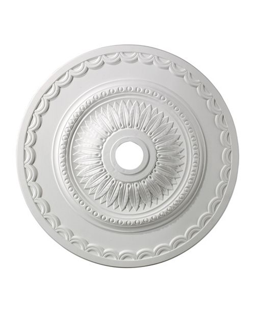 "ELK Lighting Brookdale Medallion 30"" In White Finish"