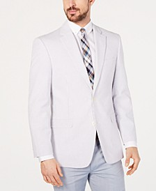 Men's Modern-Fit TH Flex Stretch  Seersucker Stripe Sport Coat