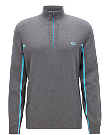 BOSS Men's Half-Zip Sweater