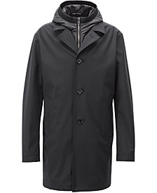 BOSS Men's Tailored Three-In-One Coat