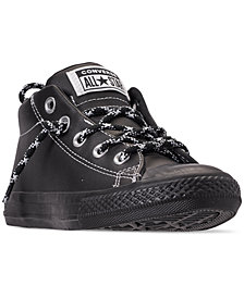 Converse Little Boys' Chuck Taylor All Star Street Hiker Mid Casual Sneakers from Finish Line