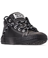 5eabf594a8f5 Converse Little Boys  Chuck Taylor All Star Street Hiker Mid Casual Sneakers  from Finish Line