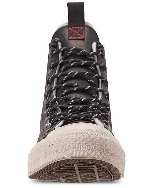 677dc9c1b70e ... Converse Men s Jack Purcell Desert Storm Leather Hi Casual Sneakers  from Finish ...