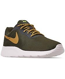 Nike Men's Tanjun SE Casual Sneakers from Finish Line
