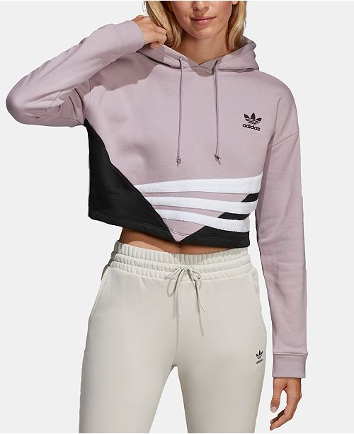 adidas Bossy 90s Cropped Hoodie & Reviews Tops Women