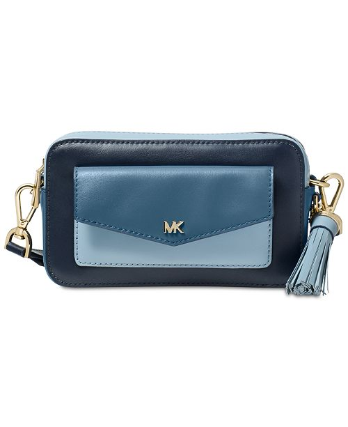 f987a8e8db9c Michael Kors Tricolor Leather Camera Bag & Reviews - Handbags ...