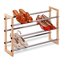 Honey Can Do 3-Tier Expandable Shoe Rack
